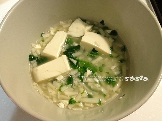 魚豆腐菠菜麵