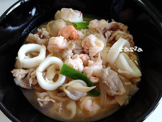 三鮮麵(蝦高湯)