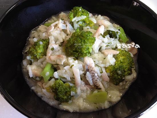 海味鮮魚粥(魚高湯)