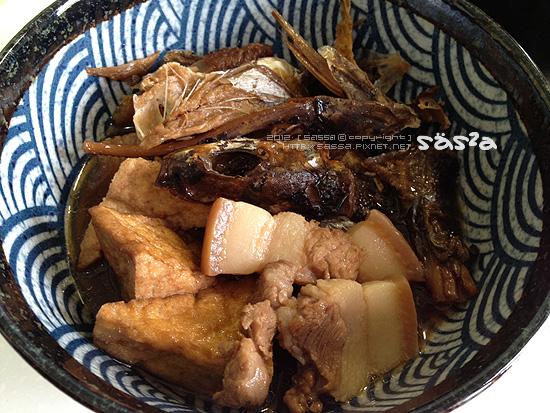 滷飛魚五花油豆腐