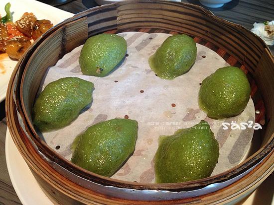 翠玉猴菇餃