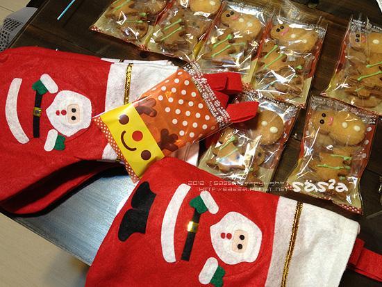 小人聖誕小禮10份準備完畢