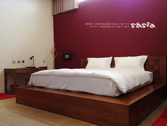 3F主臥室king size 210cm大床