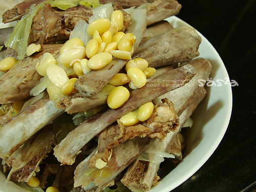 黃豆豬肋骨雞架骨高湯
