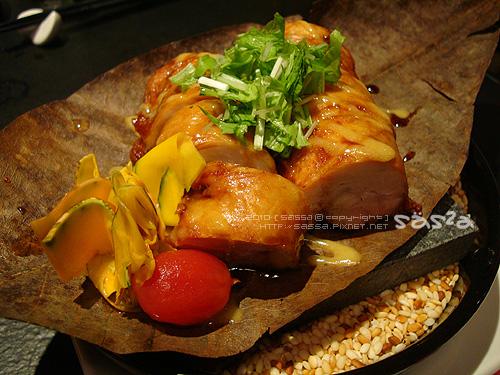 雞肉圤葉燒