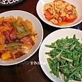 越煮越上手:番茄蛋、味增龍鬚、糖醋梅花肉