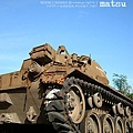 廢棄的坦克