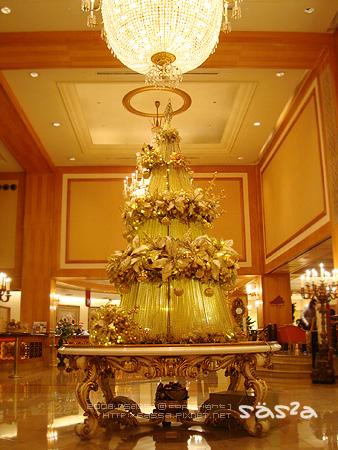 漢神LOBBY的聖誕樹