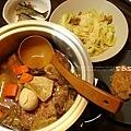 為誰煮晚餐:滷排骨、麵筋高麗、秋刀魚