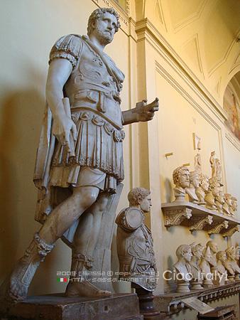 梵諦岡歷代國王的雕像