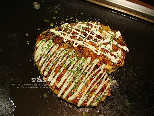心型豬泡菜好吃燒