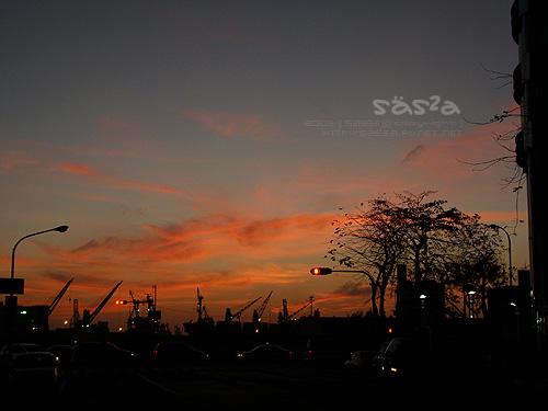 20090225夕陽