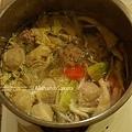 雜菜麵有婆婆的高湯