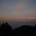 清晨的月亮