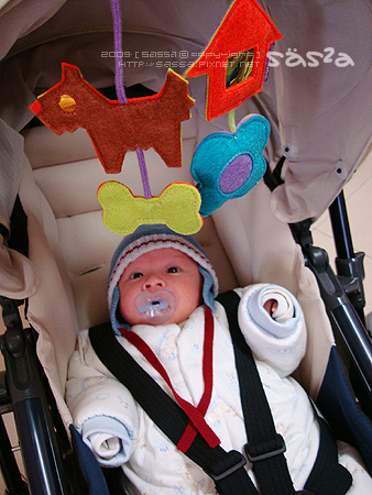 Combi Urban Walker寶寶的行動休旅車