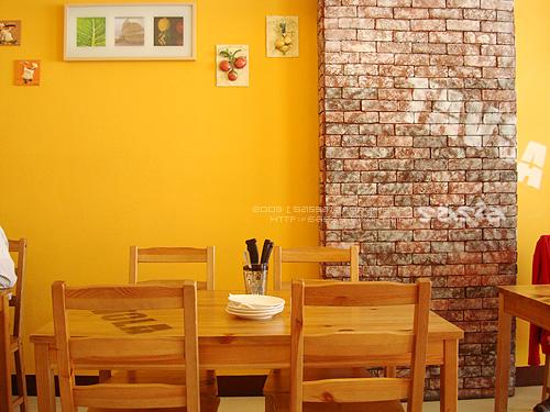 溫暖的牆色
