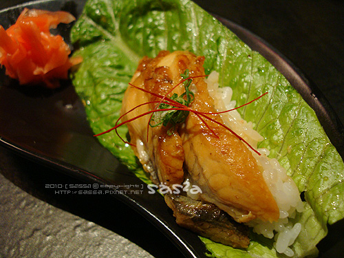 炙燒鰻魚手捲