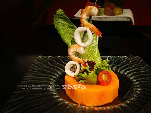 旬味海鮮木瓜沙拉