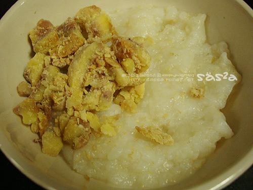 栗子與胚芽米爛飯