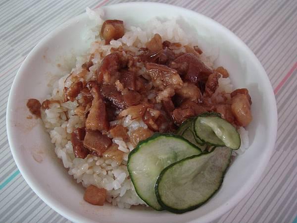 道地台南小吃肉燥飯