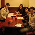 2011的最後一天在夢東籬聚餐