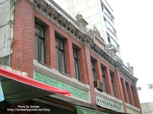 深坑老街上少數幾棟還比較保有古早味的建築之一