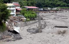 2004年艾利颱風土石流重創新竹五峰鄉土場部落