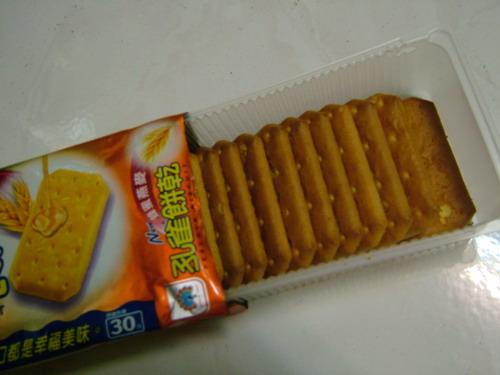 孔雀餅乾內包裝