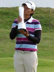 曾雅妮2010英國公開賽奪冠