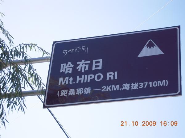 今年做的指示牌~地點就在桑耶寺的後山上,下次來別忘了也去體驗一下喔!.jpg