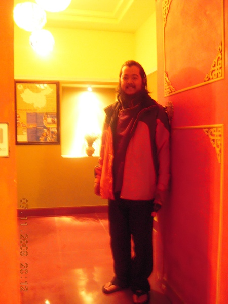 到青海我們都住在簡單的青年旅舍,費用也較低,但他們的裝飾個有其特色呦!.jpg