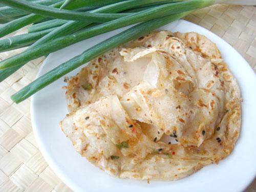 泡菜蔥烙餅