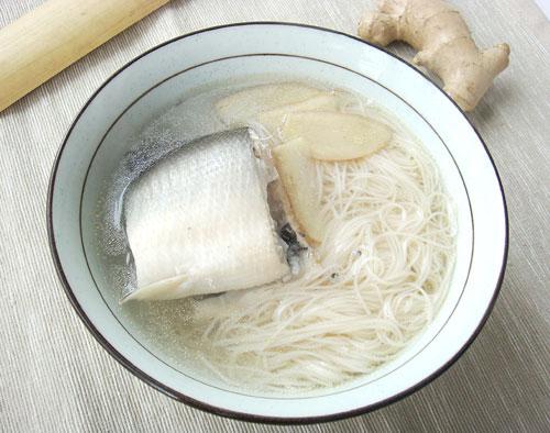 虱目魚麵線