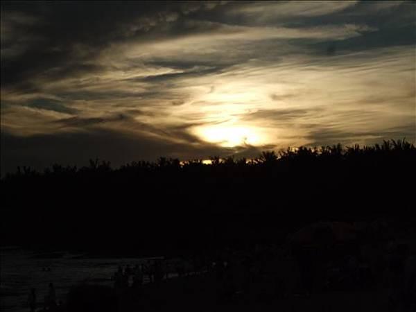 超美的夕陽
