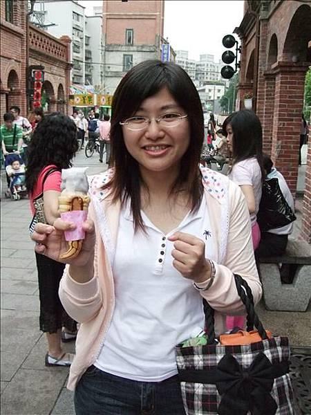 今天吃了2支冰淇淋