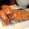 莎朗豬排+炸蝦