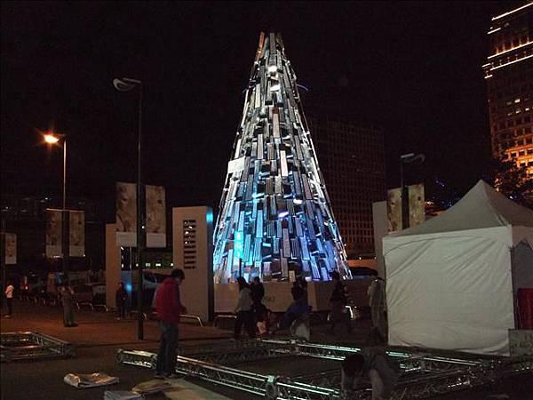 三越前的聖誕樹