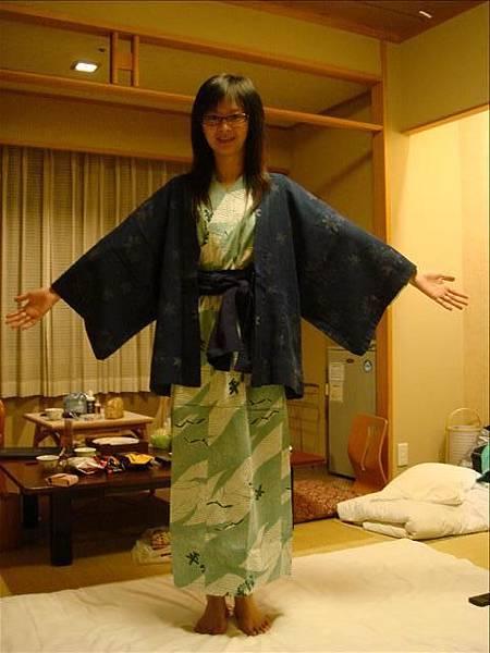 溫泉旅館的浴衣