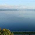 窗戶一打開就是洞爺湖