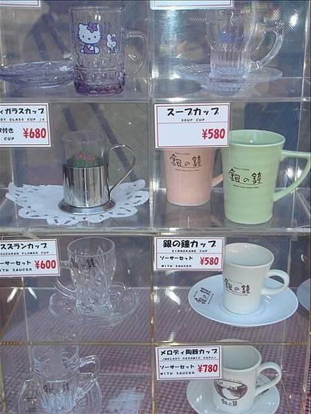 各式各樣的咖啡杯