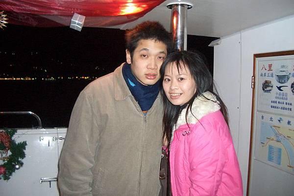 在台北航運8號船上