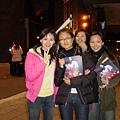 散場後還巧遇大學學姊