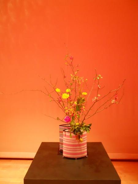 2009池坊由紀特別講習會自由花