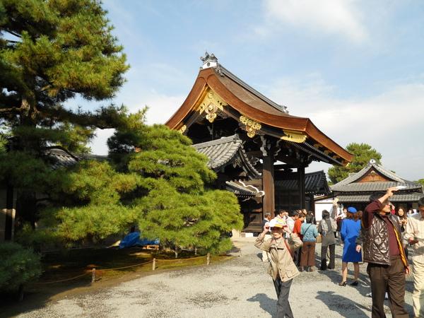 2009京都之旅 京都御所與北野天滿宮4