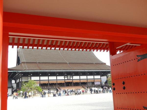 2009京都之旅 京都御所與北野天滿宮6