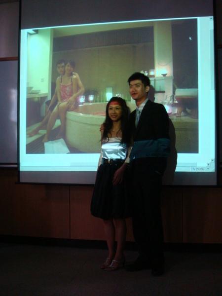 後面是峇里島求婚照片