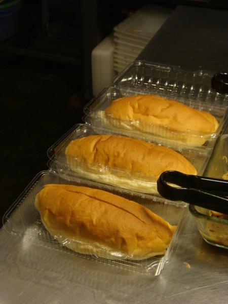 烤好的麵包