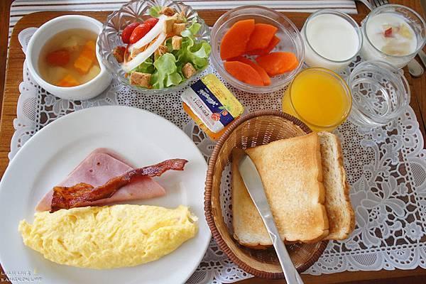 豐盛的早餐♥