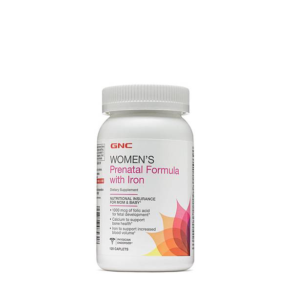 GNC with iron