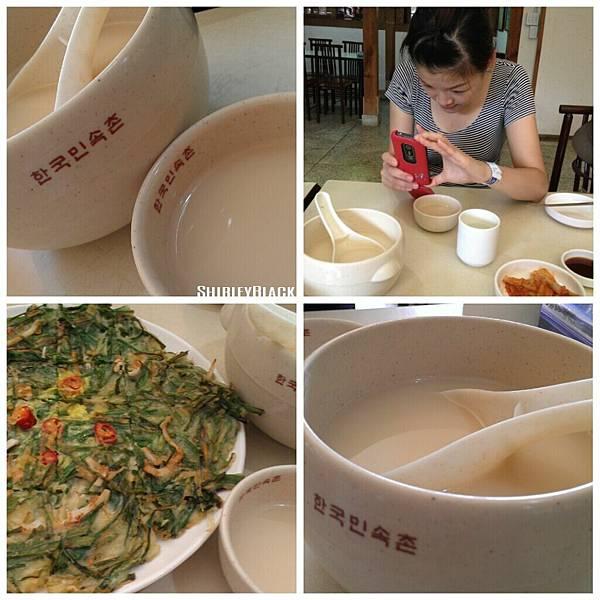 小米酒+韮菜海鮮煎餅